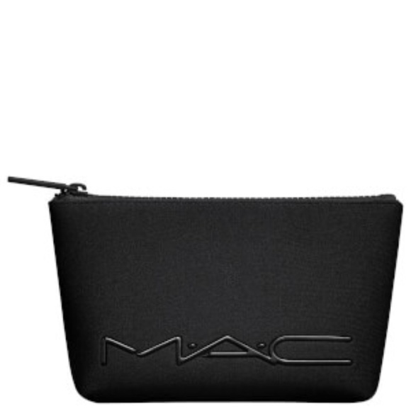 ba67bfe6d1 MAC Cosmetics Black Neoprene Makeup Bag